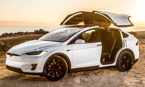 The Limousine Lines' new Tesla X SUV